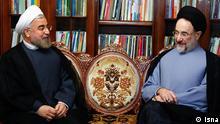 Iran Hassan Rouhani und Mohammad Khatami