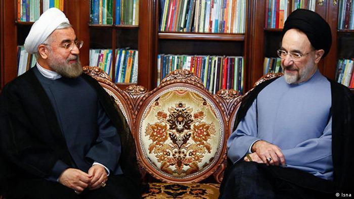 حسن روحانی عکسی از خود به همراه خاتمی را در صفحه اینستاگرامش منتشر کرد