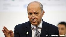 French Foreign Minister Laurent Fabius, President-designate of COP21, delivers his speech during the World Climate Change Conference 2015 (COP21) at Le Bourget, near Paris, France, December 9, 2015. REUTERS/Stephane Mahe Copyright: Reuters/S. Mahe