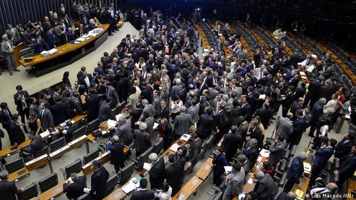 Abgeordnetenhaus Sitzung Brasilien Politik (Luis Macedo /ABr)