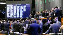 Abgeordnetenhaus Sitzung Brasilien Politik