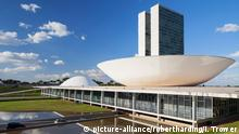 National Congress, UNESCO World Heritage Site, Brasilia, Federal District, Brazil, South America picture-alliance/robertharding/I. Trower