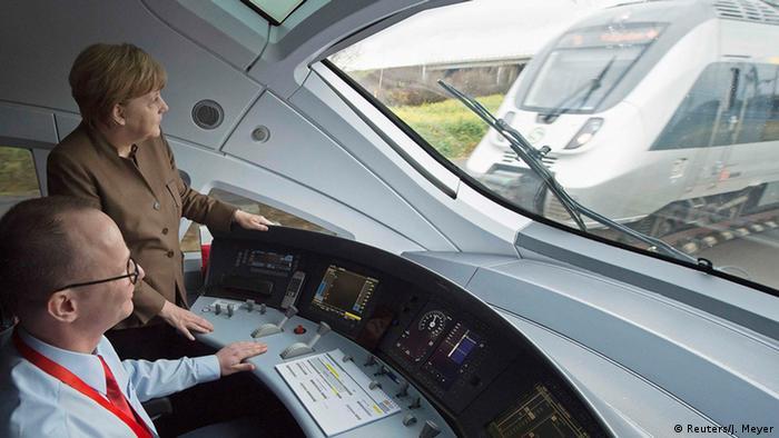 High-speed train (Reuters/J. Meyer)