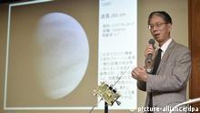 Japanische Raumsonde Akatsuki schwenkt in Venus-Orbit