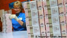 Russland Rubel Banknoten