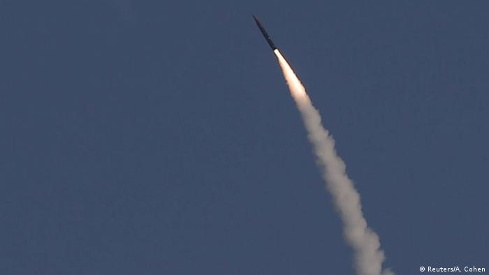 Israel Testabschuss Arrow 3 Rakete