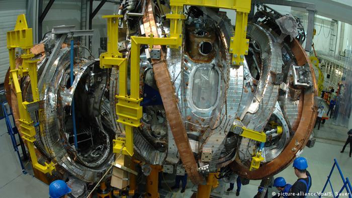 Deutschland Plasmagefäß für das Kernfusionsexperiment Wendelstein 7-X