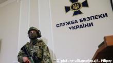 Ukraine SBU Mitarbeiter Symbolbild