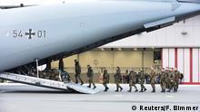Deutschland Syrien-Einsatz Transportflugzeug A400M