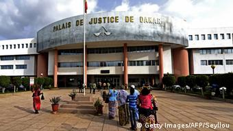 Senegal Justizpalast in Dakar