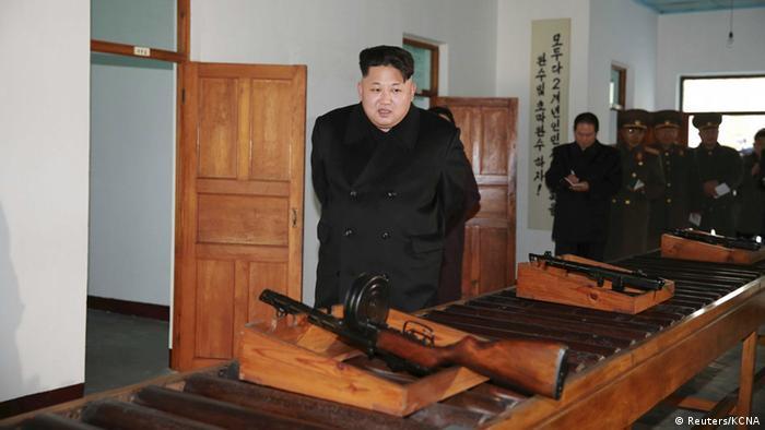 Nordkorea Kim Jong Un zu Besuch in Phyongchon