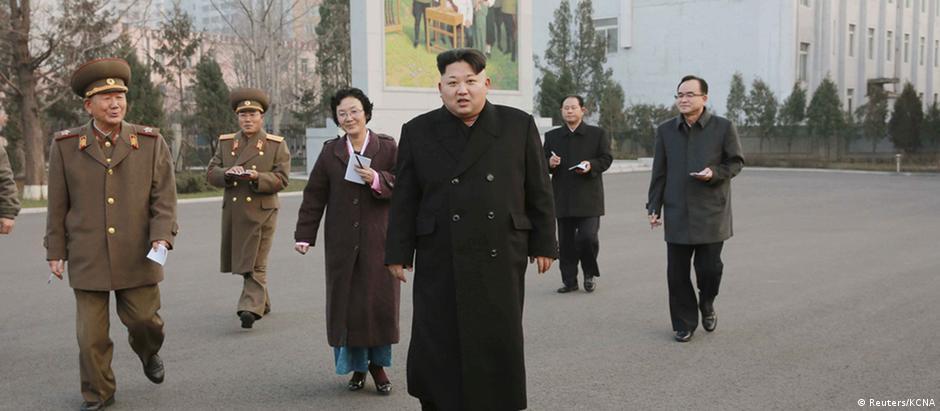 Kim Jong-un visita região de Phyongchon
