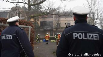 Brand in Asylbewerberunterkunft in Herxheim (picture-alliance/dpa)