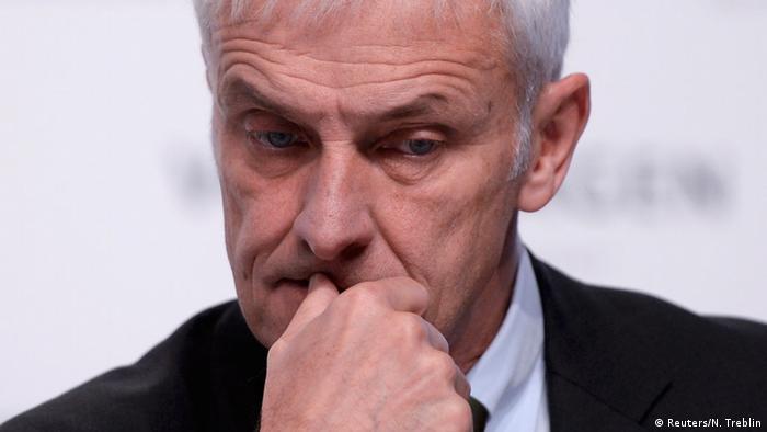 Deutschland Volkswagen Pressekonferenz