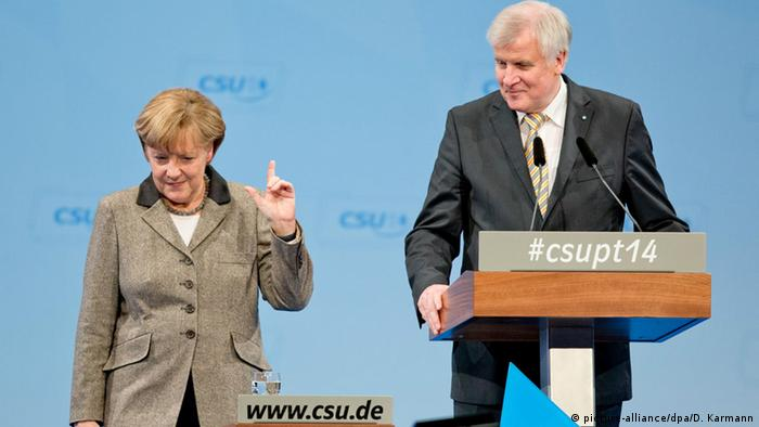 CDU Obergrenze für Flüchtlinge (picture-alliance/dpa/D. Karmann)