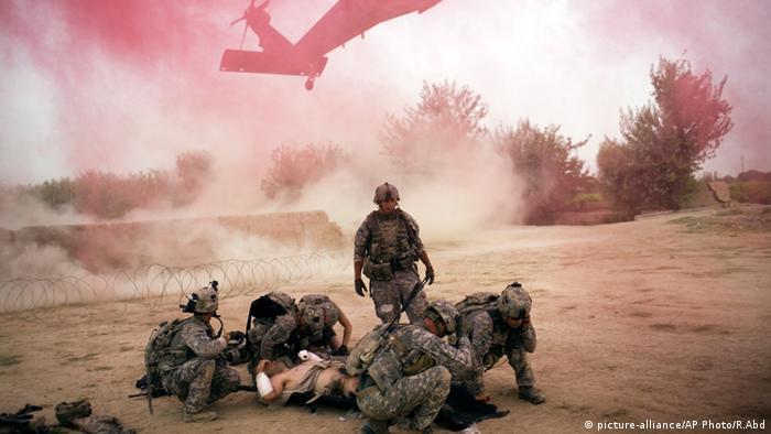 Symbolbild US Soldat verletzt