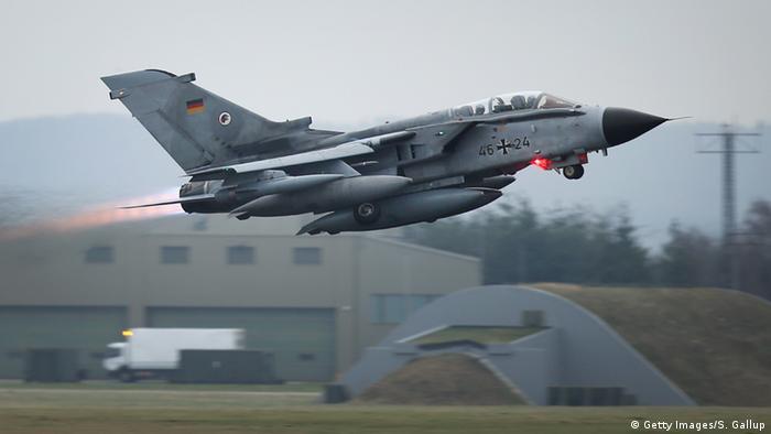 Deutschland Syrien-Einsatz Tornado Aufklärungsflugzeug Abflug