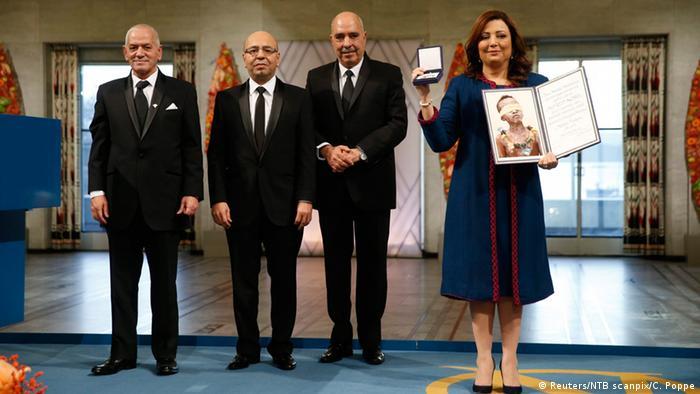 Norwegen Friedensnobelpreis Tunesisches Quartett (Reuters/NTB scanpix/C. Poppe)