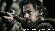 Filmstill The Revenant mit Leonardo DiCaprio als Hugh Glass