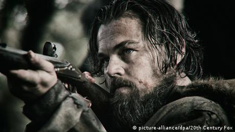 Filmstill The Revenant mit Leonardo DiCaprio als Hugh Glass