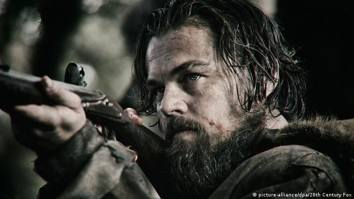 A film still from The Revenant (2015)