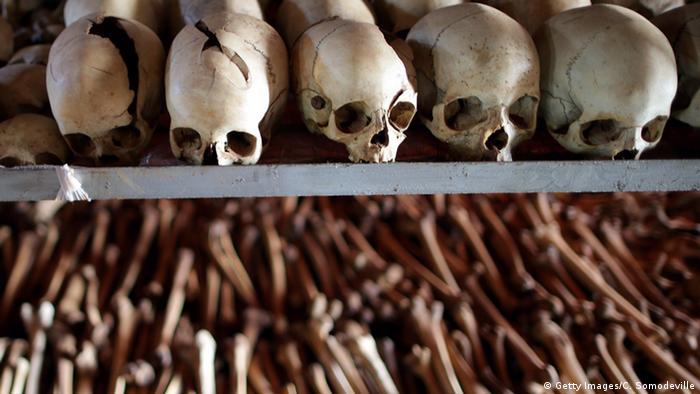 Symbolbild - Ruanda Opfer des Bürgerkriegs