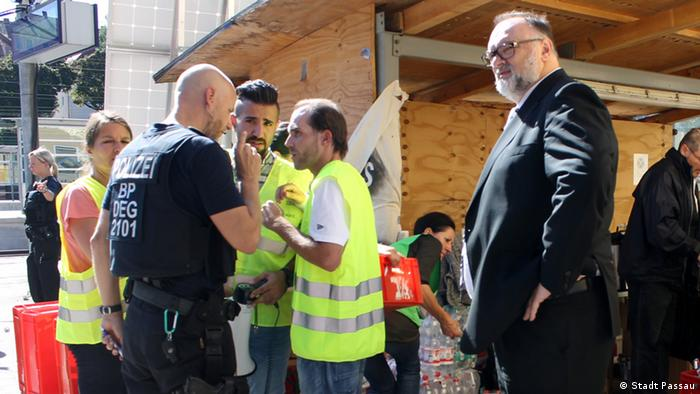 Passau - Flüchtlingslager