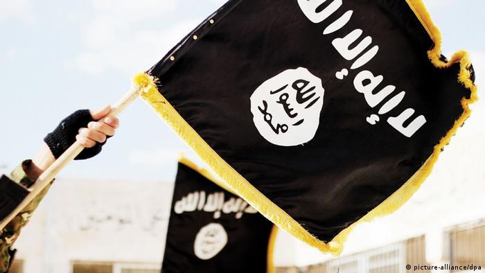 Symbolbild - Flagge ISIS