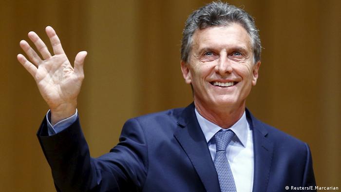 Mauricio Macri Argentinien Buenos Aires
