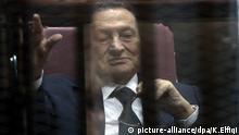 Ägypten Ex Präsident Hosni Mubarak Kairo