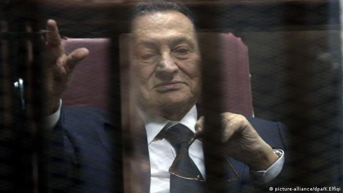 Ägypten Ex Präsident Hosni Mubarak Kairo (picture-alliance/dpa/K.Elfiqi)