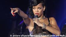 Großbritannien Konzert von Rihanna