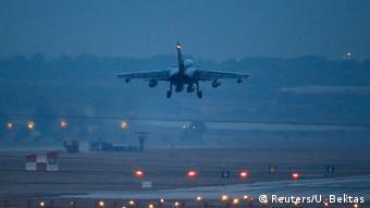 هواپیمای شناسایی تورنادو در جنگ با داعش