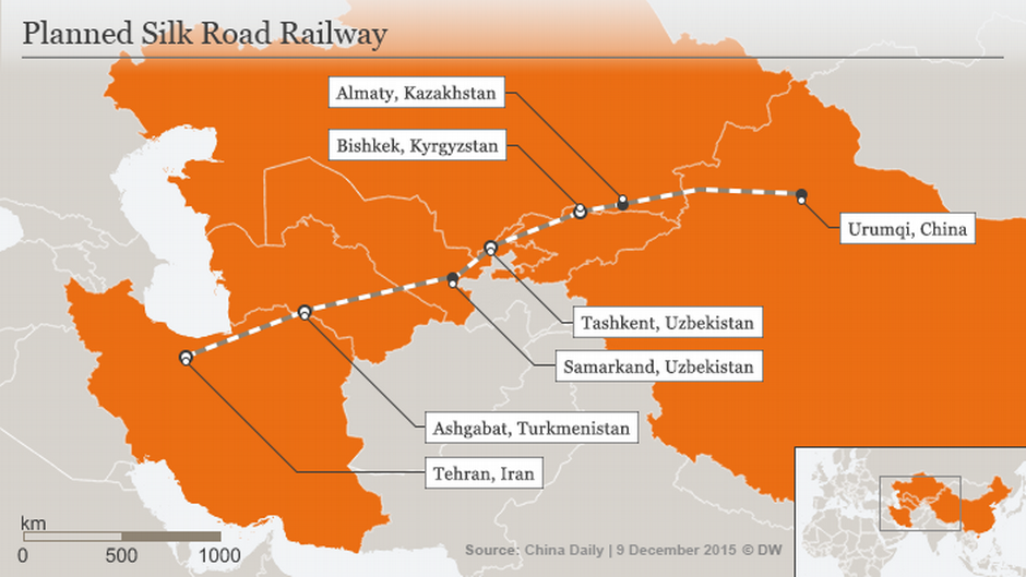 iran and silk road The first train to connect china and iran has arrived in the iranian capital tehran to revive the ancient silk road iranian officials say it took two weeks for a 32-container train to get to.