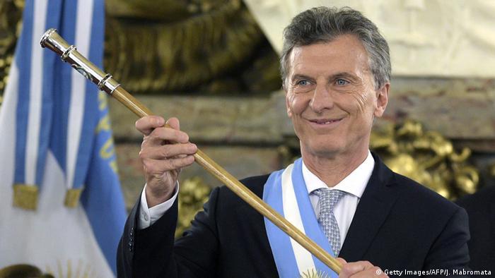 Argentinien - Präsident Mauricio Macri