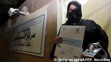Saudi-Arabien - Kandidatin für die Regionalwahlen