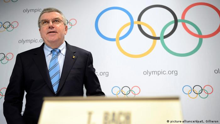 Thomas Bach Präsident Internationales Olympisches Komitee