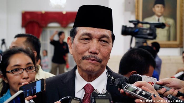 Luhut Binsar Pandjaitan: Indonesischer Minister für Politik (picture alliance / dpa / I. Irham)