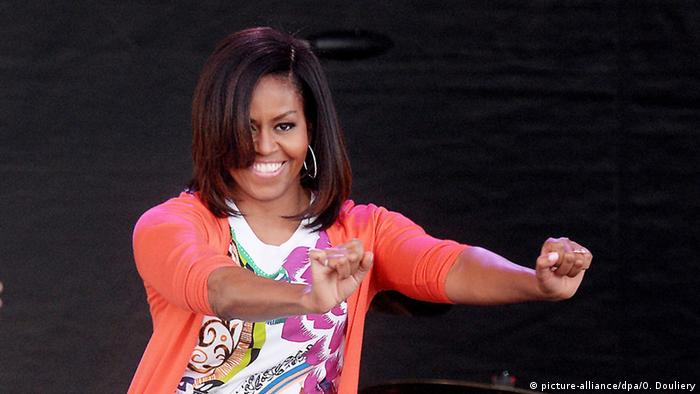 Washingon Michelle Obama tanzt