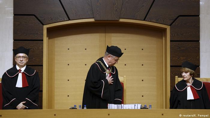 Заседание Конституционного суда Польши