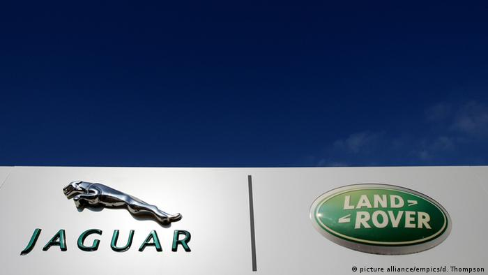 Logo Jaguar Land Rover (picture alliance/empics/d. Thompson)