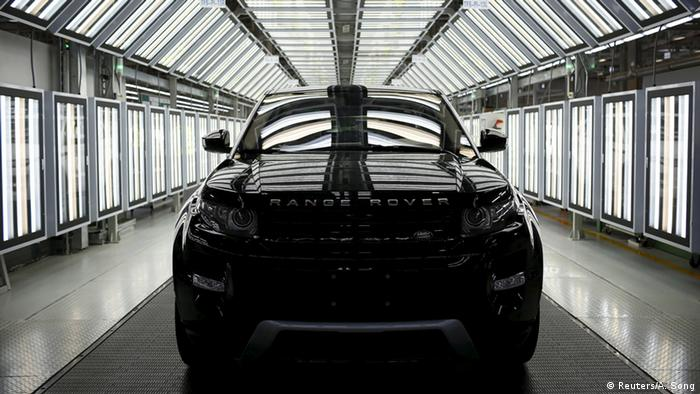 Land Rover Evoque (Reuters/A. Song)
