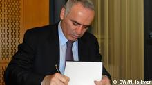 Buchvorstellung Warum wir Putin stoppen müssen Garri Kasparow