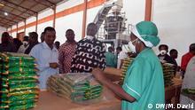 Mosambik Bohnen Fabrik in Niassa