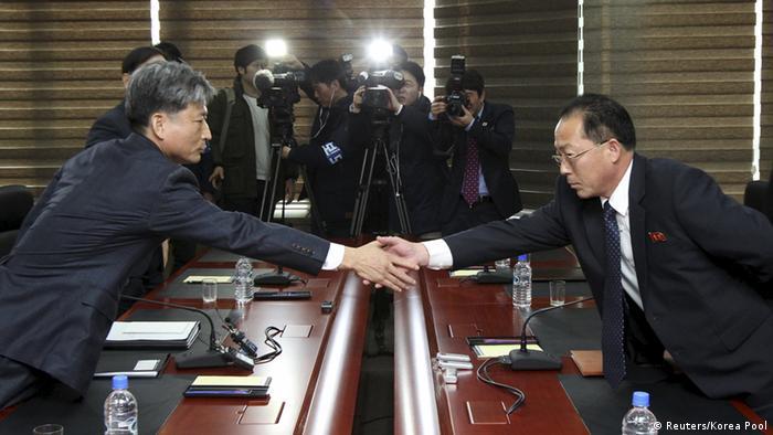 Nordkorea Südkorea Gespräche in Kaesong