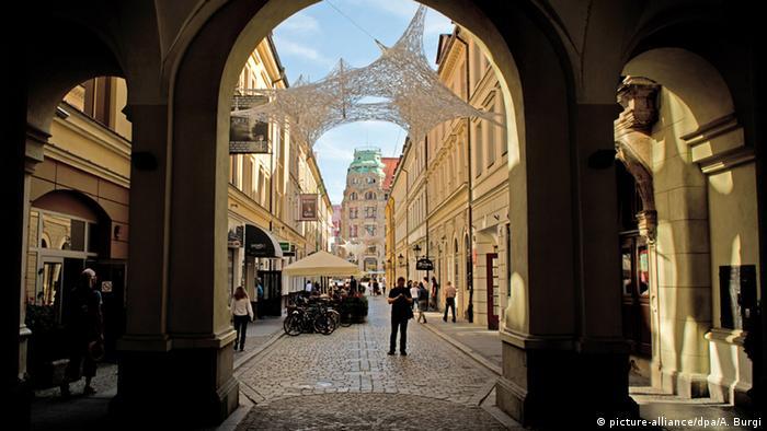 Polen Breslau Kulturhauptstadt 2016 Altstadt