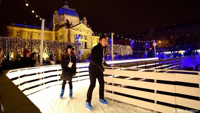 Klizalište na Trgu kralja Tomislava