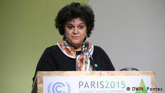 Ministra do Meio Ambiente, Izabella Teixeira, teve participação expressiva na COP21