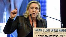 Frankreich - Marine Le Pen