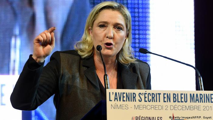 Frankreich - Marine Le Pen (Getty Images/AFP/P. Guyot)
